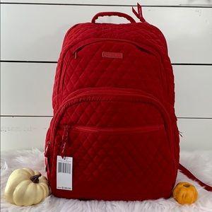 Vera Bradley Large Essential Backpack - Tango Red
